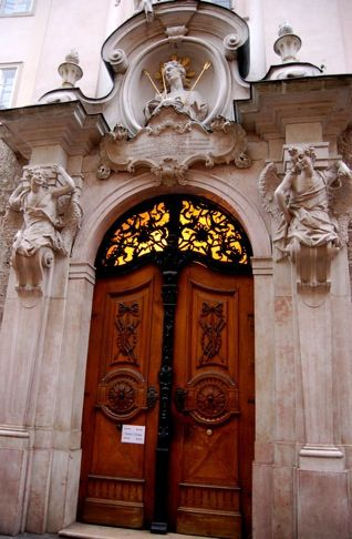 Door to St. Sebastians Church | Flickr - Photo Sharing!  Salzburg