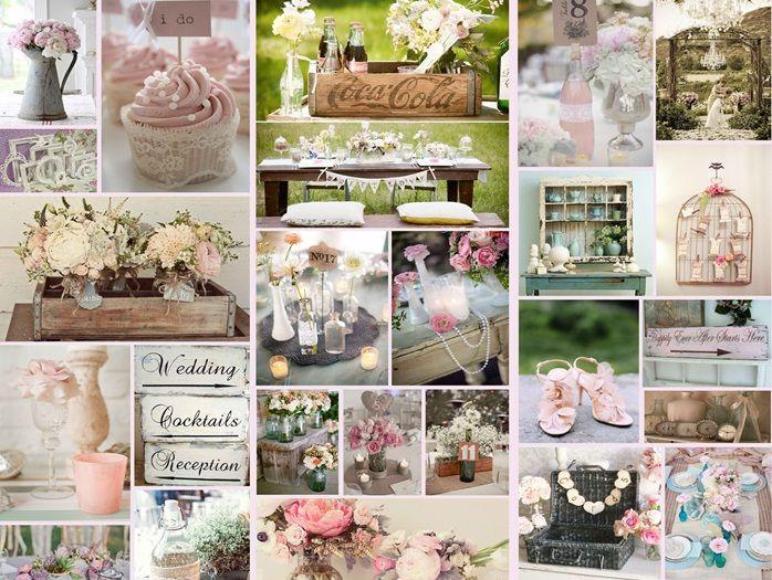 Shabby Chic Wedding Decorations Ideas