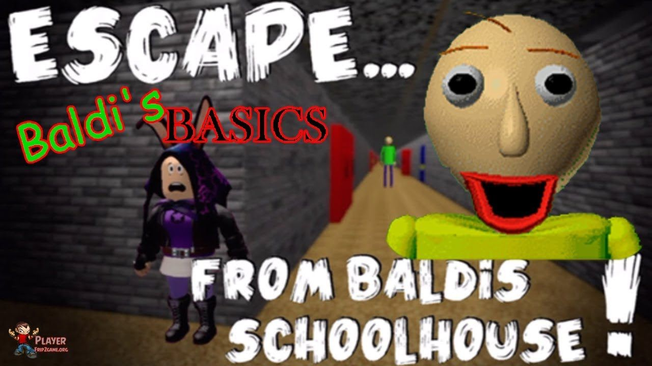 Baldi S Basics Escape From Baldi S Schoolhouse Roblox