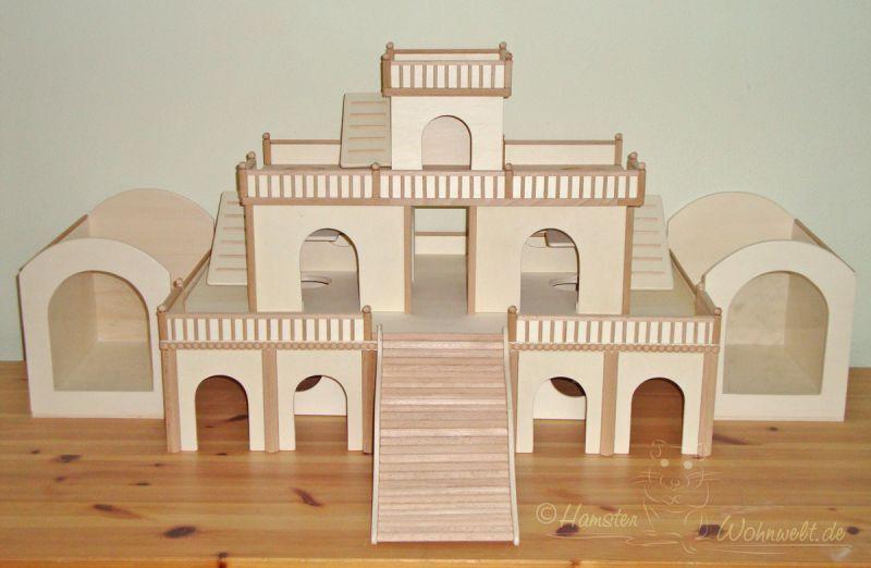 Bauten zur Beschäftigung - Hamster Wohnwelt