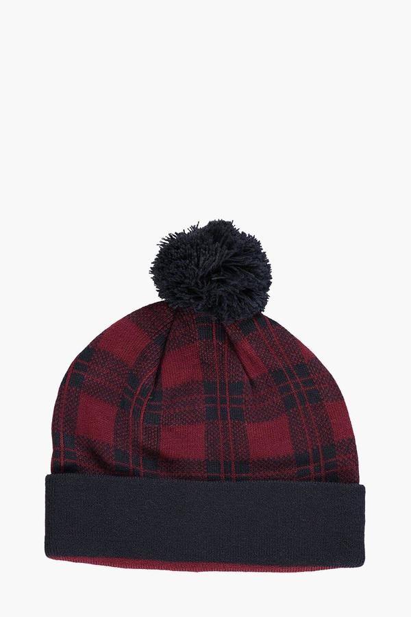 fec4a405735 boohoo Checked Hat Men's Hats, Hats For Men, Boohoo, ...