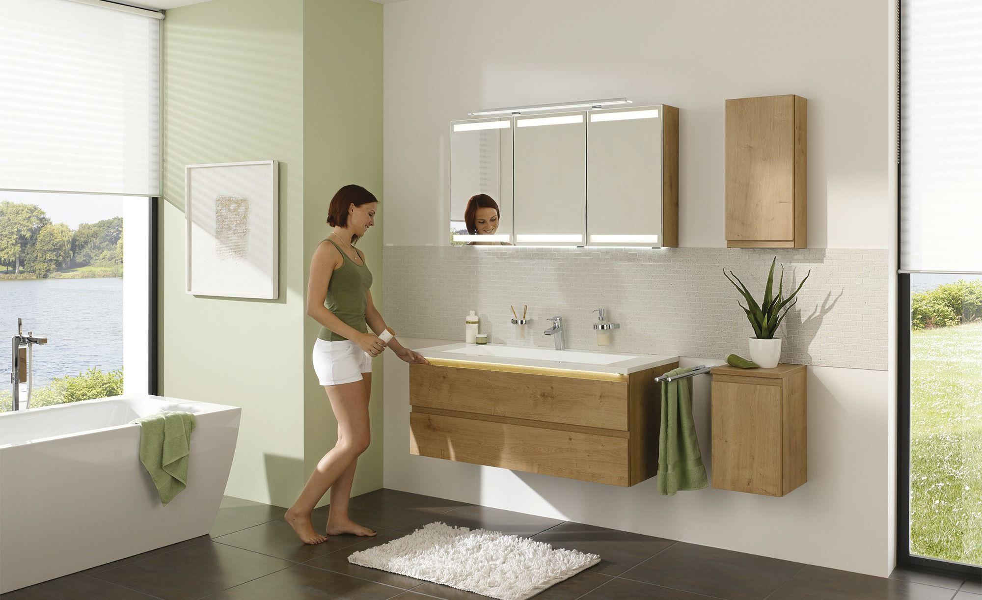 Unterschrank B Straight Gefunden Bei Mobel Hoffner In 2020 Badezimmer Oberschranke Und Badezimmermobel Holz