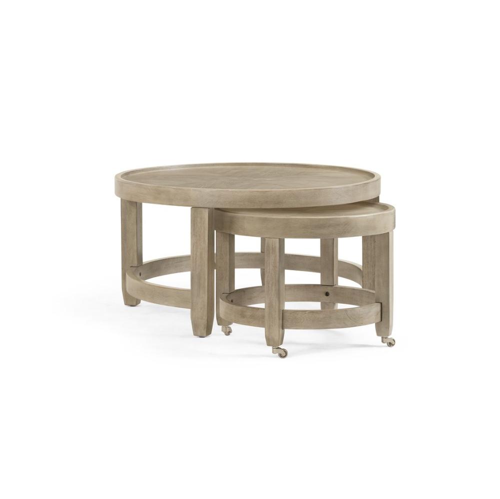 Nesting Ash Round Coffee Table Bellamy Nesting Coffee Tables Coffee Table Round Coffee Table [ 999 x 1000 Pixel ]