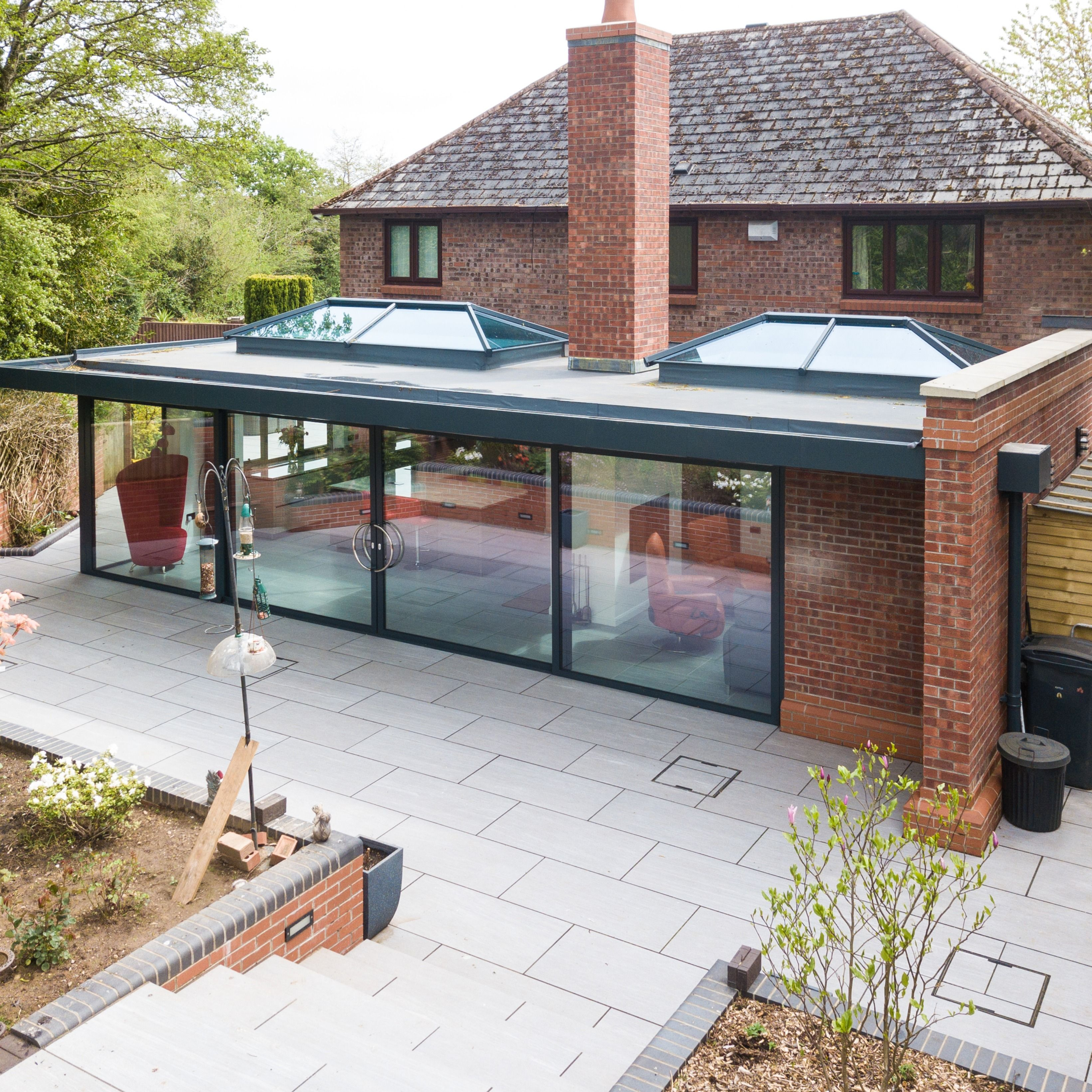 House Extensions In Lancashire House Extension Plans Flat Roof Extension Roof Lantern