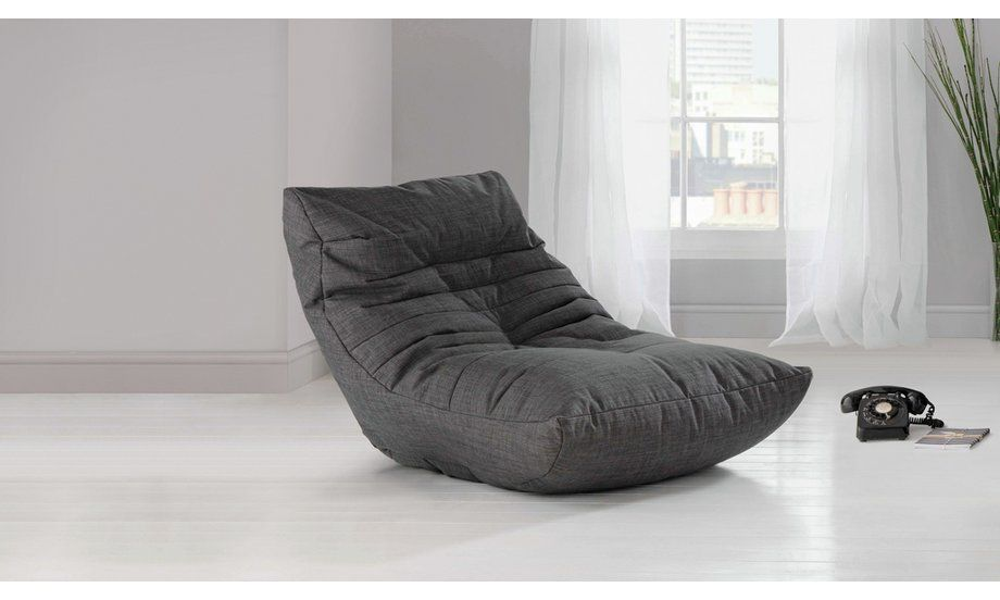 Buy argos home fabric lounger chair charcoal armchairs
