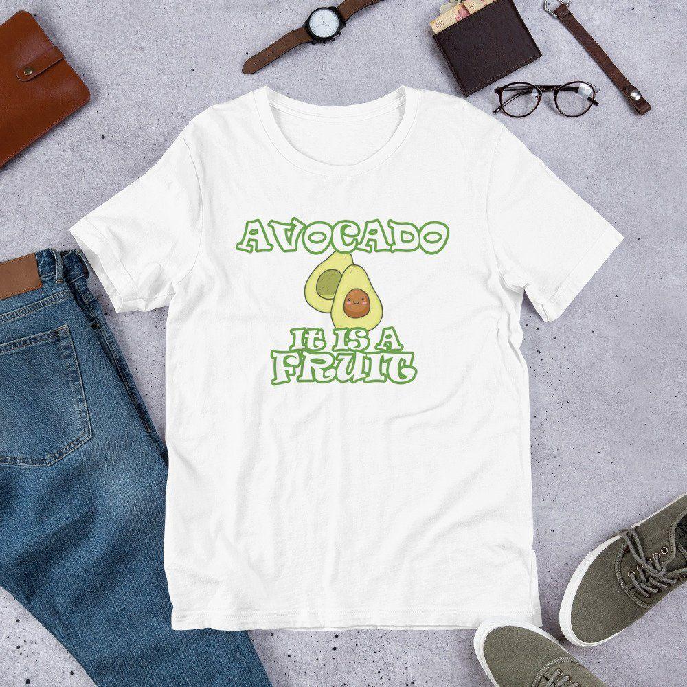 Art Avocado Childrens Cotton Black Short Sleeve T-Shirt for Girl