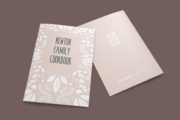 Vintage Cookbook Indesign Template Indesign Templates