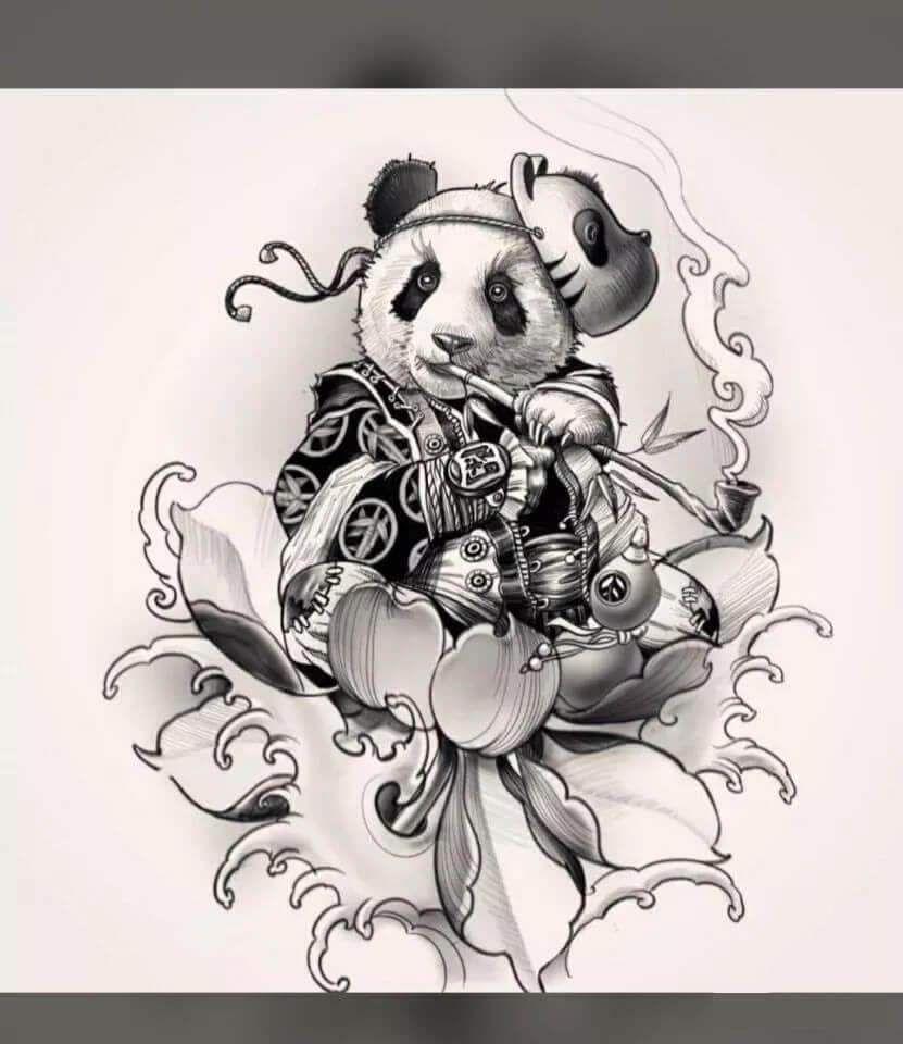71 cute panda tattoo images tattoo kits tattoo machines