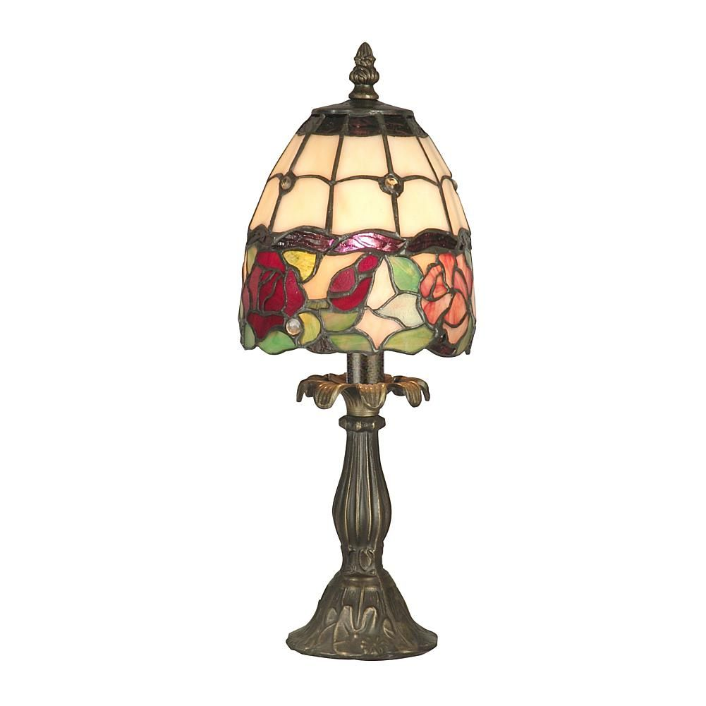 Enid Miniature Table Lamp 6630116 Table Lamp Stained Glass