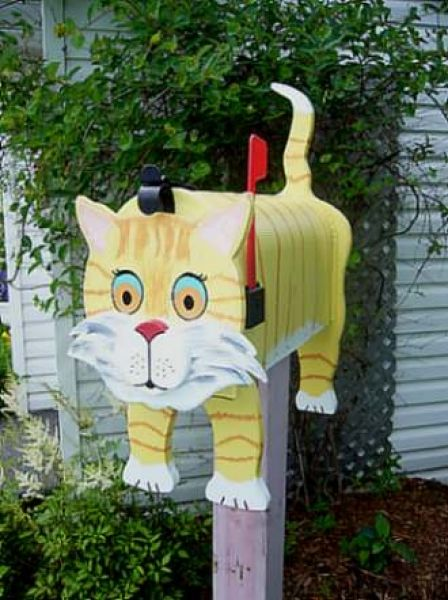 Cat mailboxes ...........click here to find out more http://googydog.com