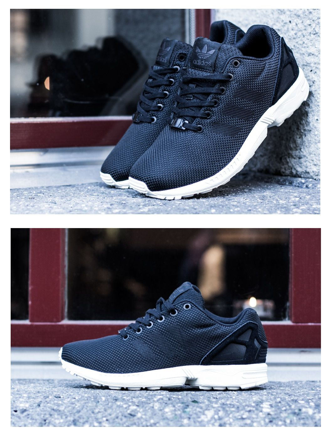 adidas zx flux weave black elements sneakers adidas. Black Bedroom Furniture Sets. Home Design Ideas