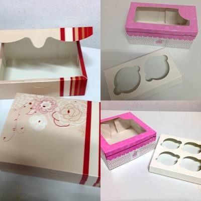 Exclusivas cajas para cupcakes, truchas y pasteles