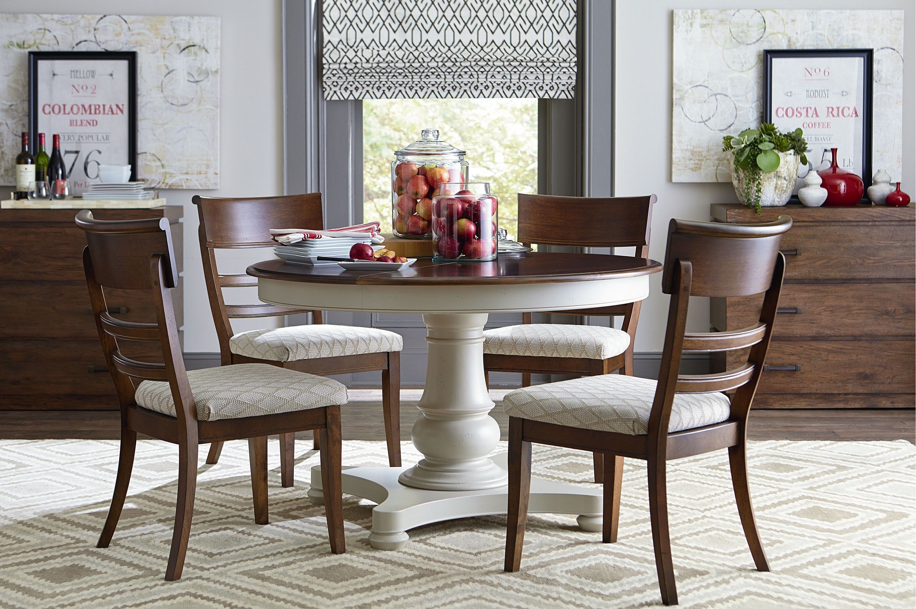 Custom Dining 9042 Dining Set 9042 Gallery From Bassett At