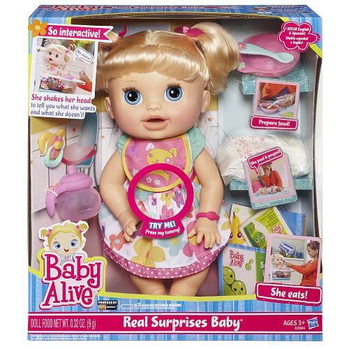 Toys R Us Babies R Us Surprise Baby Baby Dolls Baby Alive