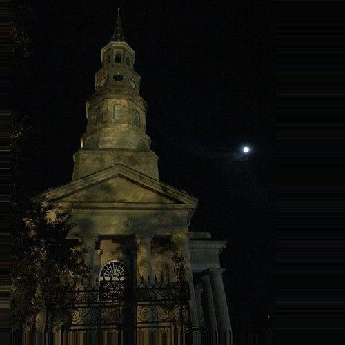 St Philips #Charleston, at night