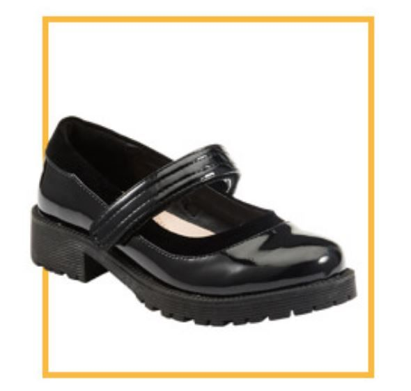 Tesco, Velcro Patent Shoes, from £15.00