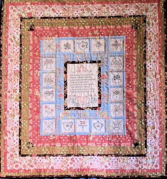 A Faithful Friend Block of the Month Quilt pdf Pattern | Hand ... : quilt design programs - Adamdwight.com