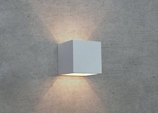PanderLights CLEO-12 Wandleuchte Gips Lampe Leuchte Wandlampe