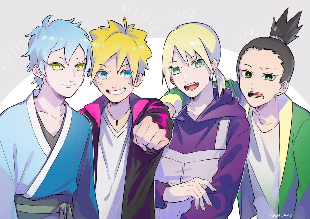 前 on Twitter Naruto, Boruto, Anime