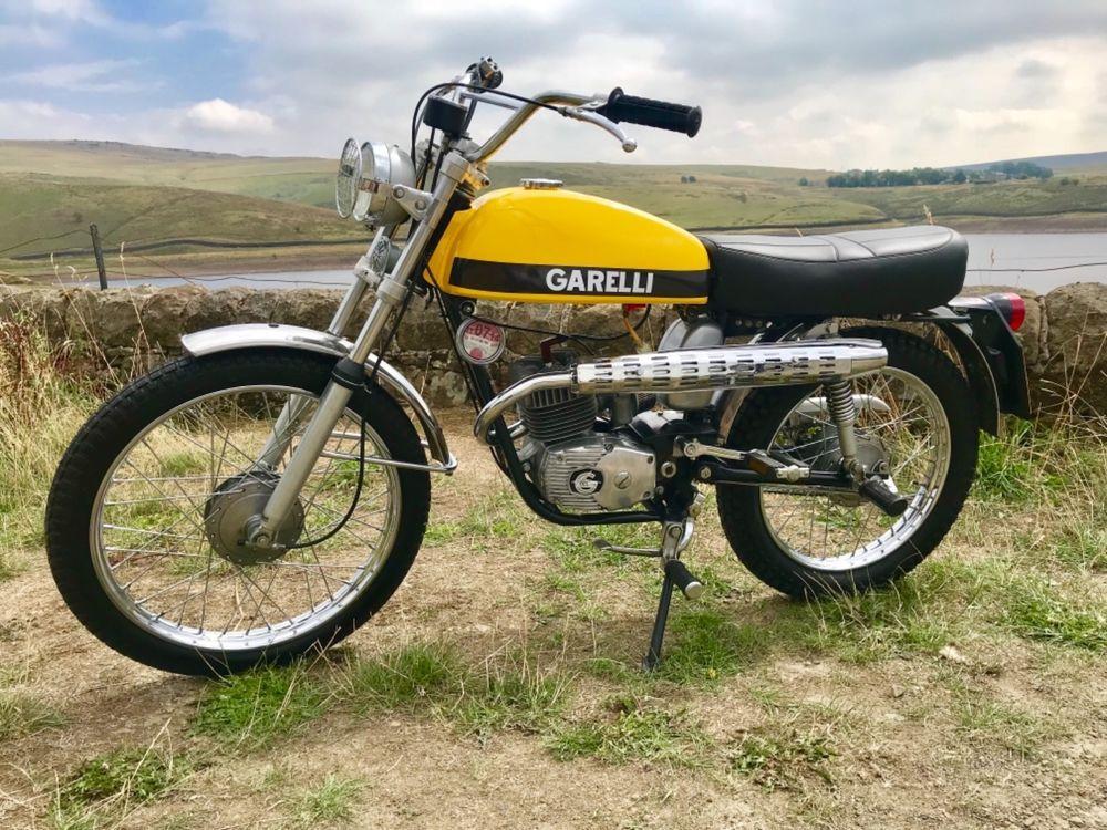Ebay Garelli Tiger Cross Sports Moped 1974 Original Uk Bike