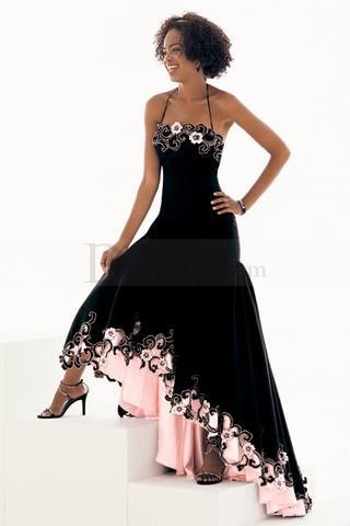 Halter Strapped Princess Cut Timeless Classy Dresses