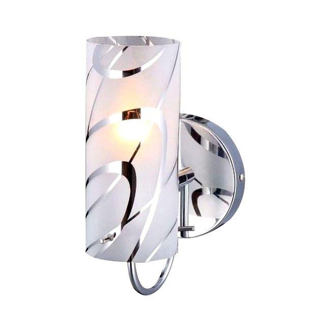 Kinkiet Halo 1 X 40 W E14 Chrom Kinkiety Lampy Scienne I Sufitowe Oswietlenie Urzadzanie Wall Lights Lamp Decor