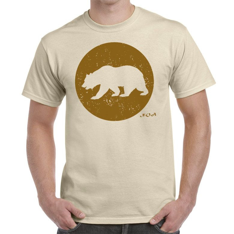 Brown circle with bear inside tee shirt wilderness themed brown circle with bear inside tee shirt wilderness themed adventure themed by noaclothingcompany on publicscrutiny Gallery