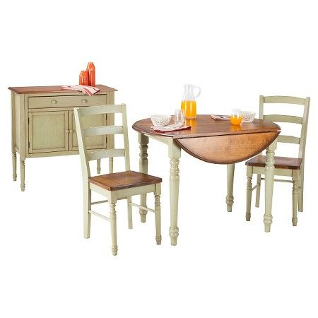 Mulberry Distressed Two Tone Buffet  Kitchen  Pinterest  Target Endearing Two Toned Dining Room Sets Review