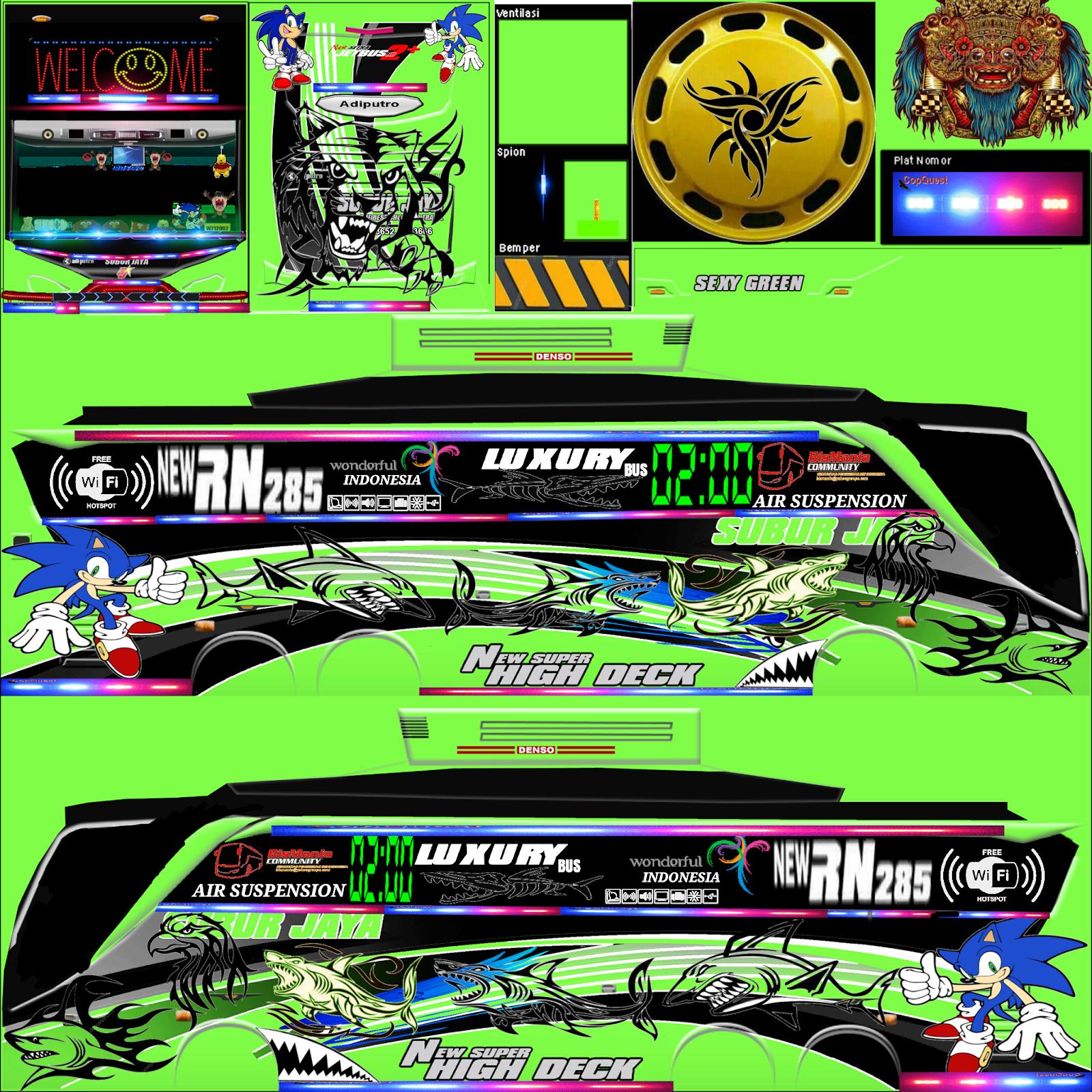 Menakjubkan 15 Stiker Bus Simulator Keren Shd Gudang Gambar Hd Bus Simulator Bus Simulator Indonesia Bus Games