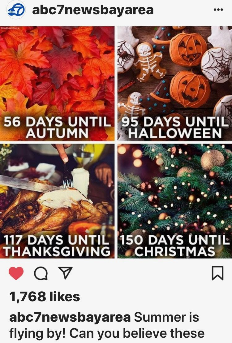 July 29, 2018 Halloween countdown, Days until christmas