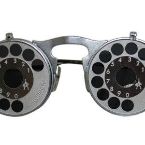 0b17ba57087 unisex round metal flip up sunglasses Hi Tek model HT-006-TELEPHONE ...