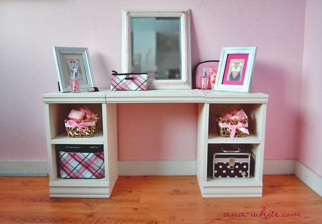 Play Vanity Kids Diy Furniture Plans Wood Projects