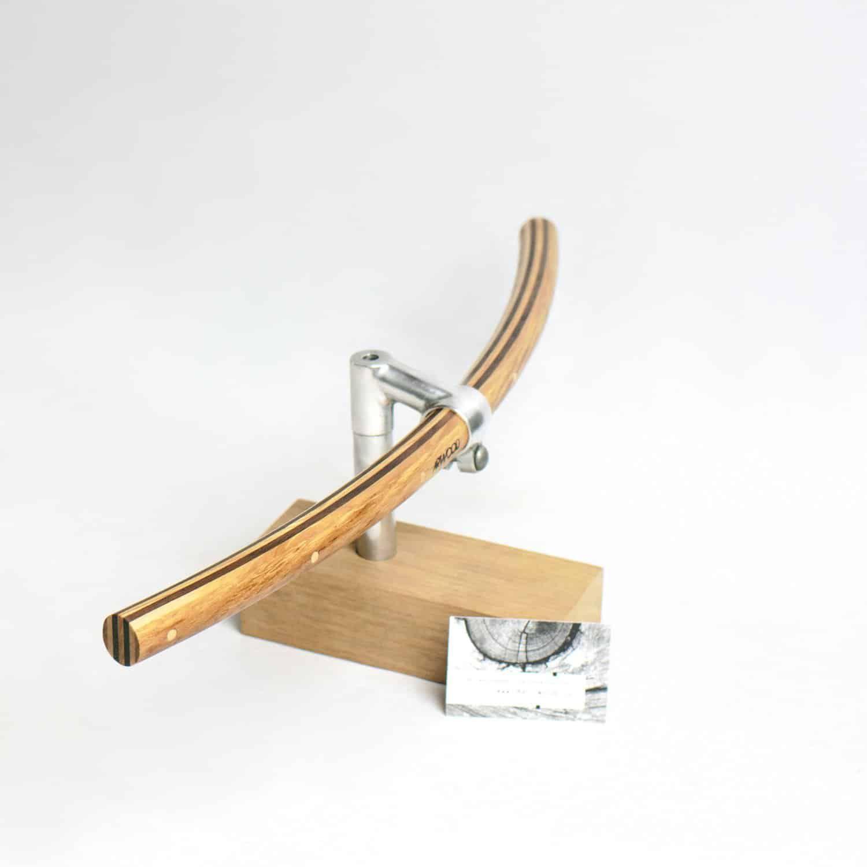 Fahrradlenker »Wilhelm« aus Holz in gebogener Form von Art-WooD ...