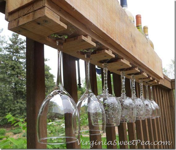 pallet wine glass rack. Unique Pallet DIY Pallet Wine Rack  Sweet Pea To Glass