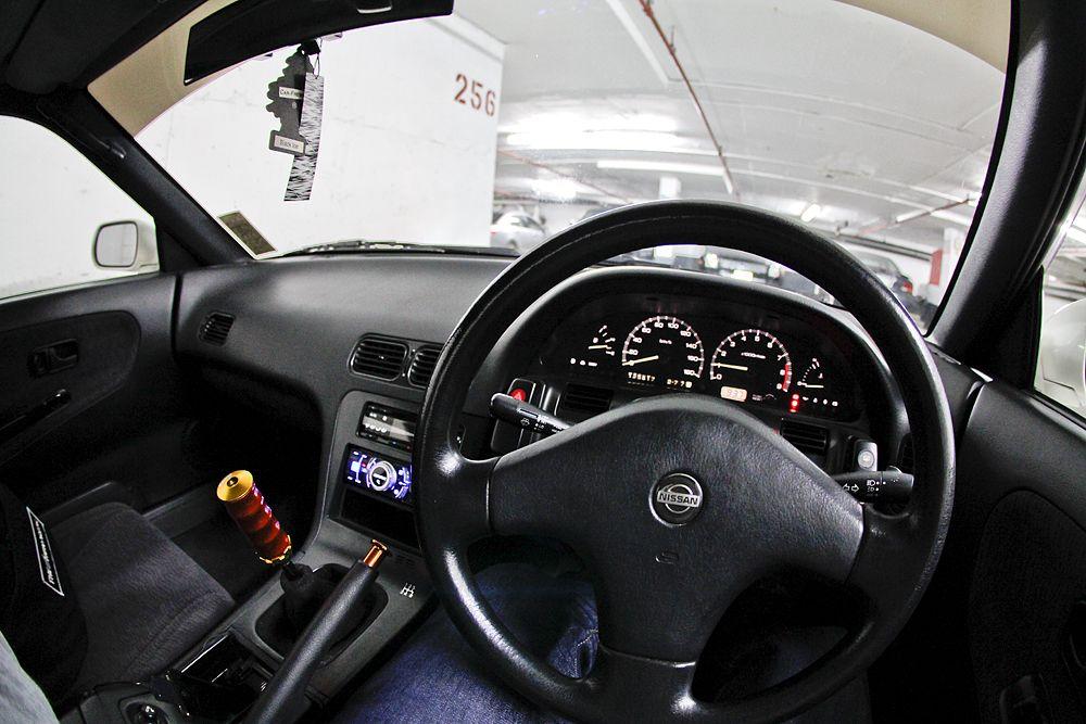 Good Clean S13 Interior. Drifting Machine!