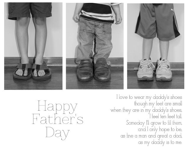 Adorable idea for a Father's Day Gift- or his birthday, Christmas, etc.  Sweet and meaningful.