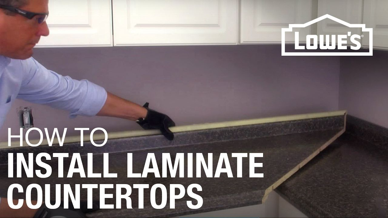 How to Install Laminate Countertops   Kitchen countertops ...