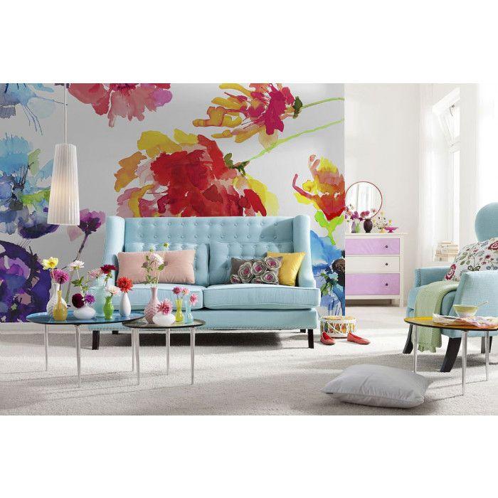 Poster mural XXL PASSION (avec images) | Idées de papier peint, Papier peint, Fresque murale