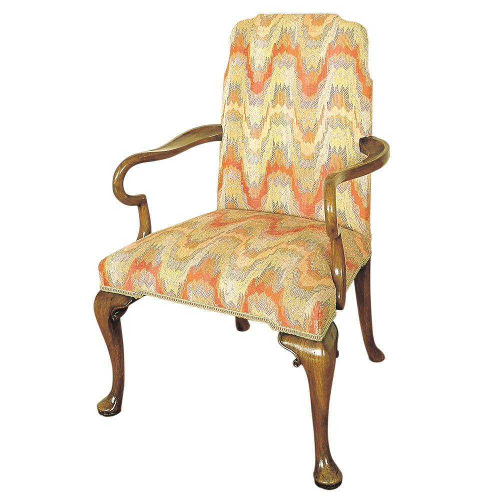 Walnut armchair titchmarshgoodwin wells house pinterest