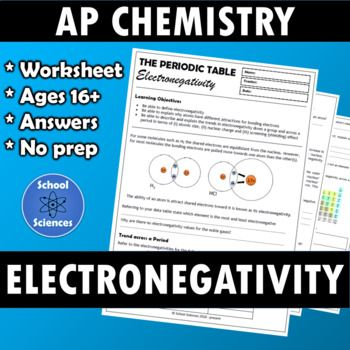 Trends in the periodic table electronegativity periodic table trends in the periodic table electronegativity periodic table worksheets and students urtaz Choice Image