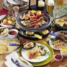Geselliges Raclette-Essen #racletteideen