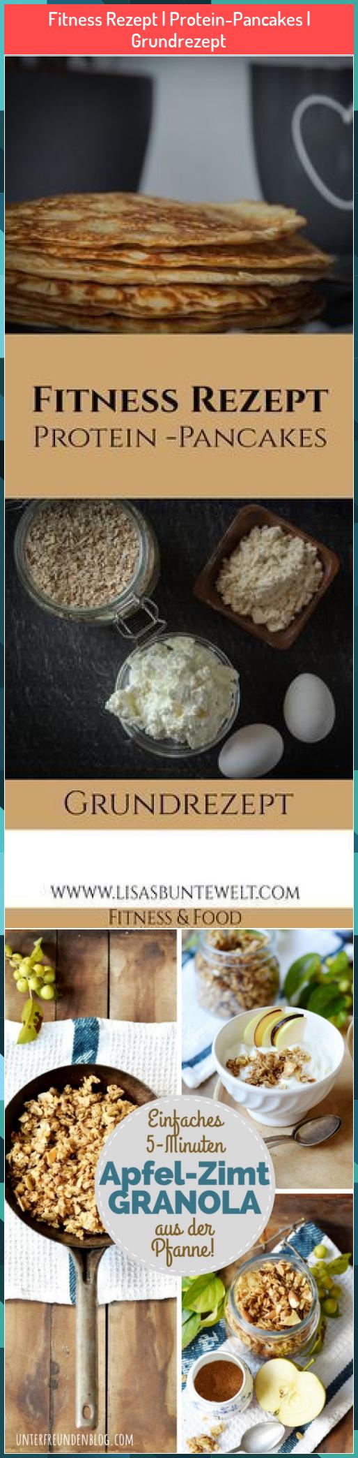 Fitness Rezept | Protein-Pancakes | Grundrezept #Fitness #Rezept #Protein-Pancakes #Grundrezept