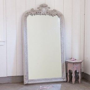 Large Crest Mirror