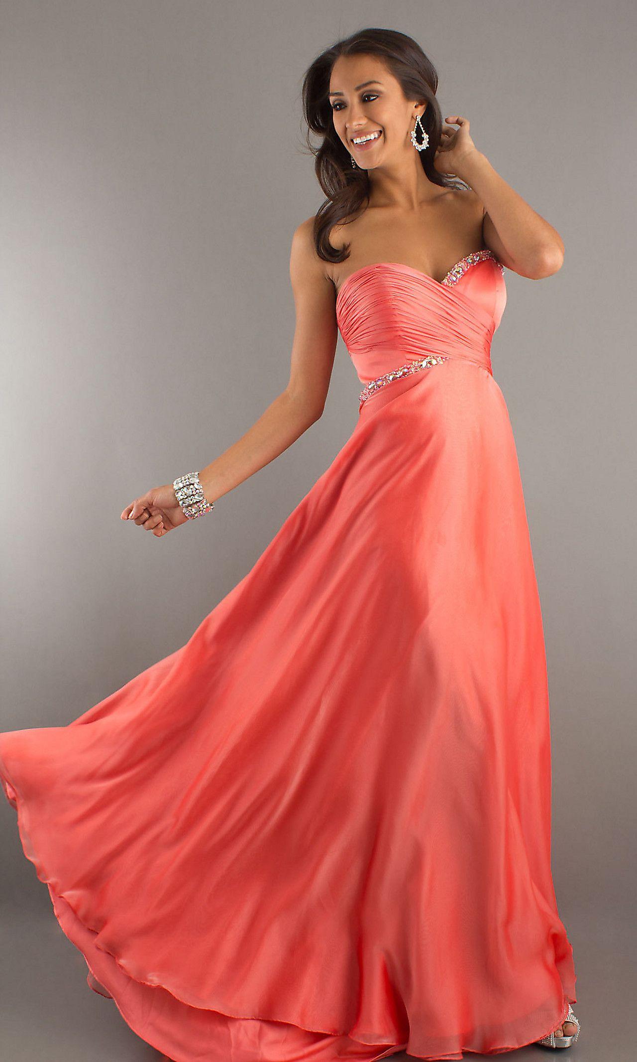 Strapless Sweetheart Formal Dress by Landa LN-Cire-PE240#Repin By ...