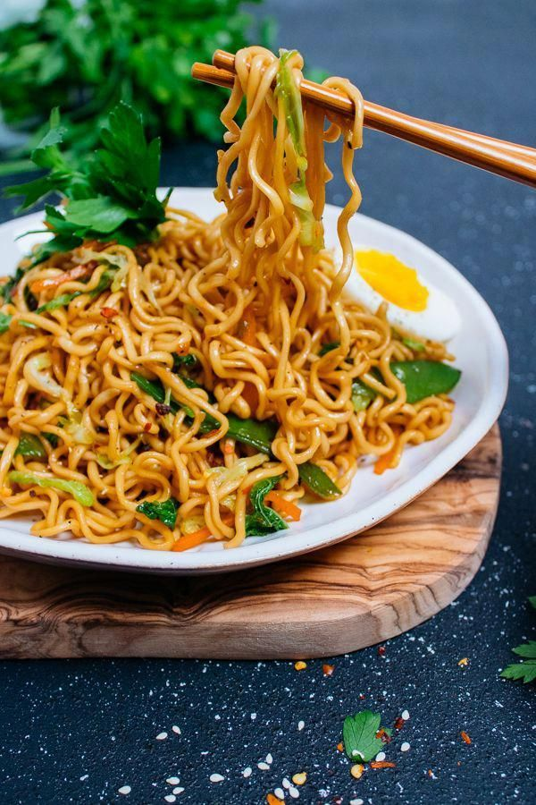 25-Minute Vegetable Ramen Noodle Stir-Fry. Quick and delicious ramen noodles and vegetables stir-fried in a sweet and savory sauce. #ramennoodlerecipes #cabbagestirfry 25-Minute Vegetable Ramen Noodle Stir-Fry. Quick and delicious ramen noodles and vegetables stir-fried in a sweet and savory sauce. #ramennoodlerecipes #cabbagestirfry