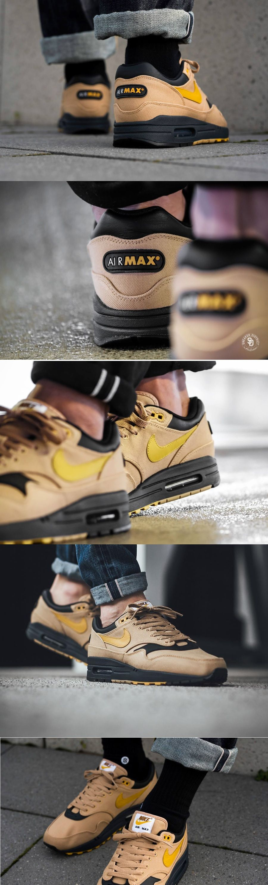 Nike Air Max 1 #Premium #Elemental #Gold | Sneakers | Nike