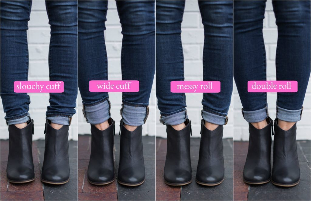 aff5ef231e48 How to wear ankle boots with skinny jeans is one of my most-asked questions  this time of year. And depending on the length of your jeans