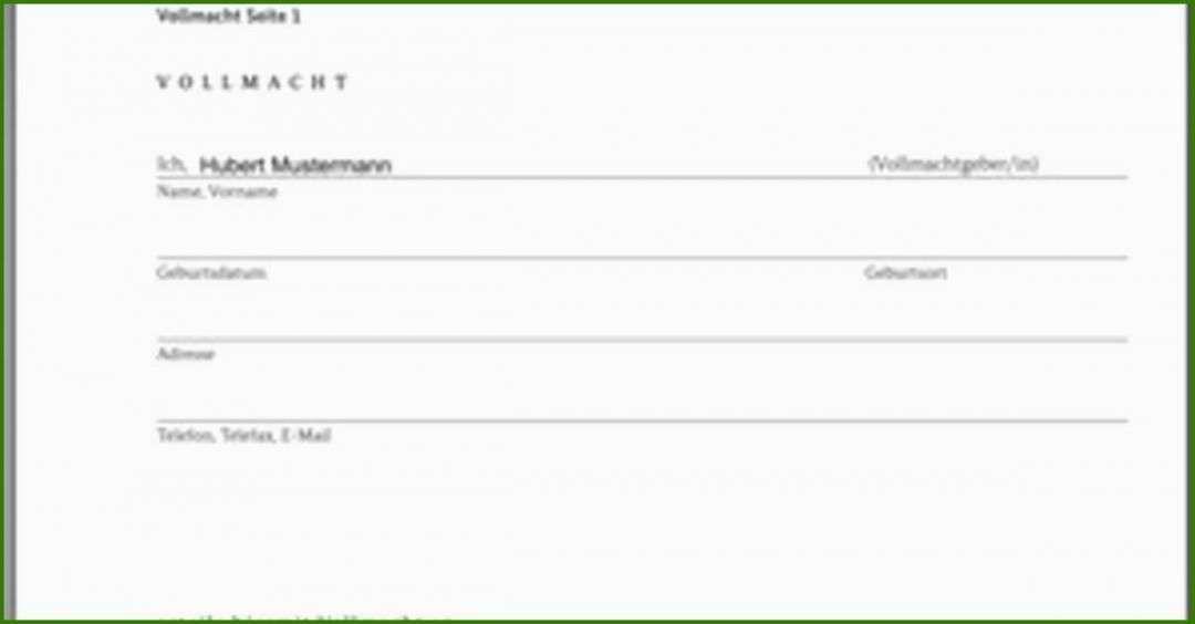 Authentisch Vollmacht Kfz Anmeldung Vorlage Vollmacht Flugblatt Design Vorlagen