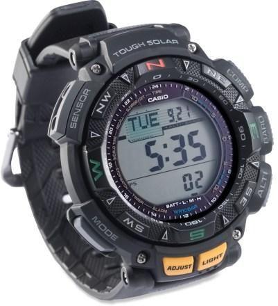 Casio Pathfinder Pag240 Multifunction Watch Rei Co Op Casio Protrek Casio Military Watch Casio
