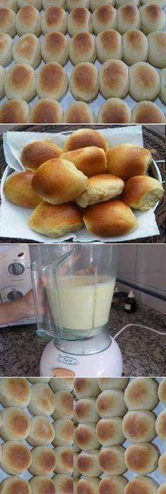 Después de que aprendí a hacer este PAN de licuadora, nunca más volvía a la panadería. Es simplemente DIVINO, rápido, práctico y muy fácil. ¡La familia entera le gusta mucho!